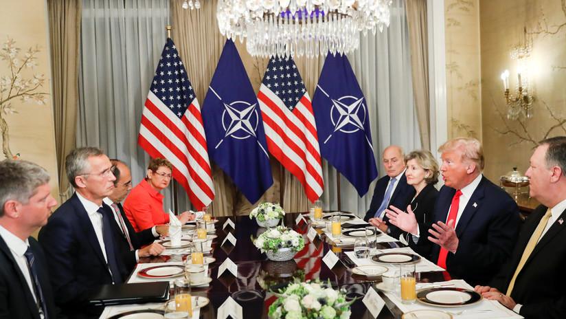 """Trump en la cumbre de la OTAN: """"Alemania es prisionera de Rusia"""""""