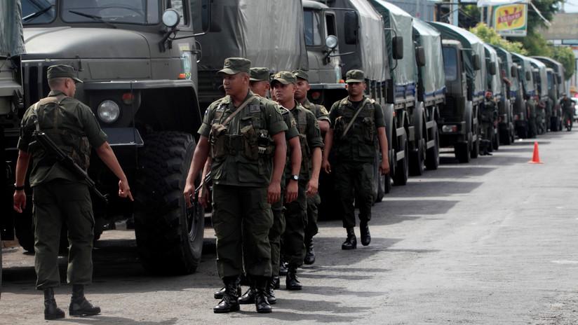 """""""Rechazamos la campaña calumniosa"""": El Ejército de Nicaragua asegura no intervenir en las protestas"""