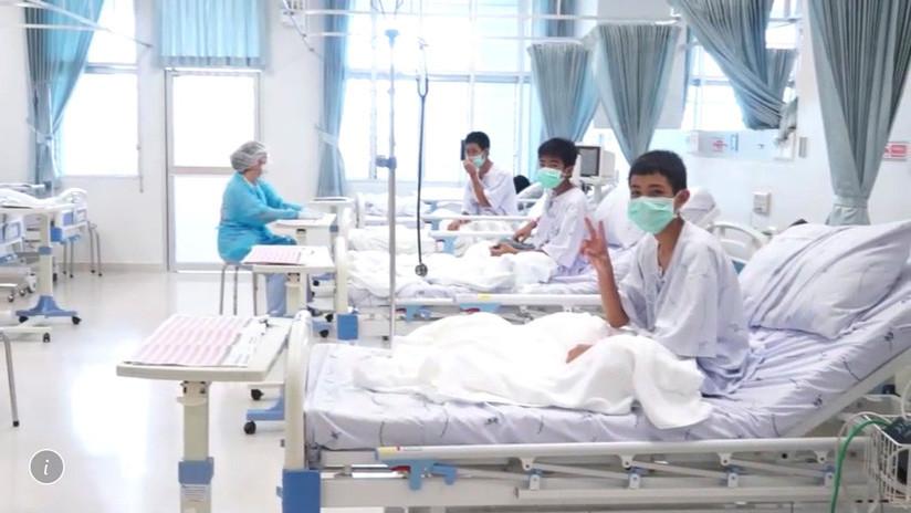 Revelan primeros detalles del rescate de la cueva tailandesa