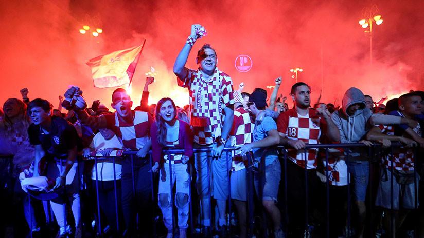 Bomberos croatas 'se pierden el penal decisivo' del Croacia-Rusia: ¿Cuán real es este video?