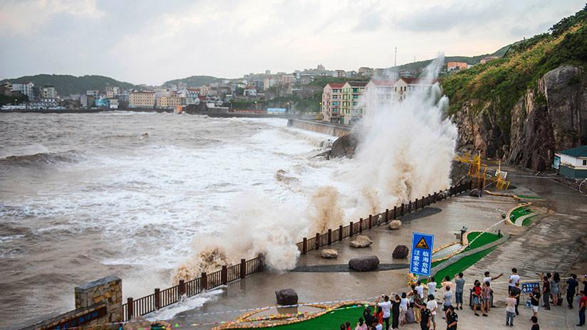 China evacúa a cerca de 580.000 personas por el supertifón María