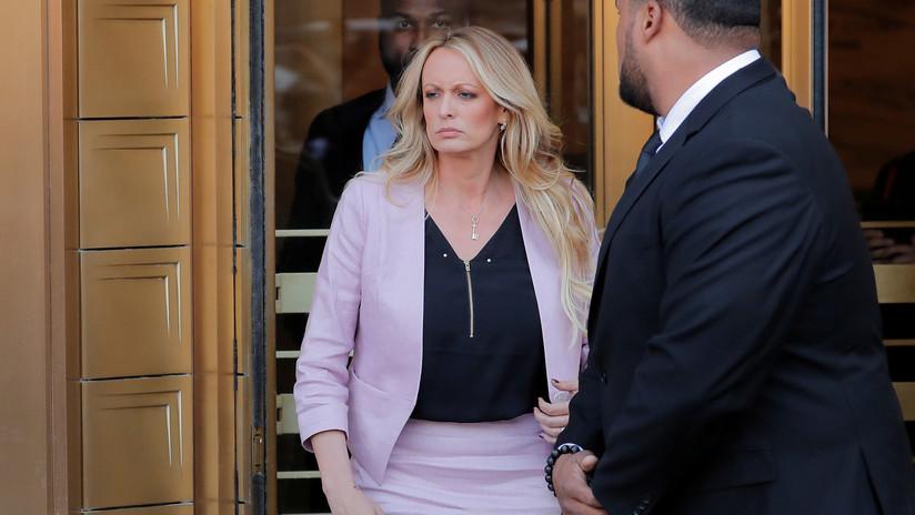 Arrestan a la actriz porno Stormy Daniels, que afirmó haber tenido un romance con Trump