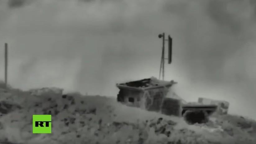 VIDEO: Israel ataca tres objetivos militares sirios en los Altos del Golán