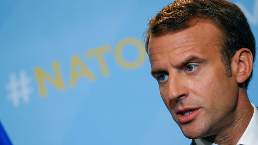 Macron niega que los aliados de la OTAN hayan acordado aumentar sus gastos militares al 4 %