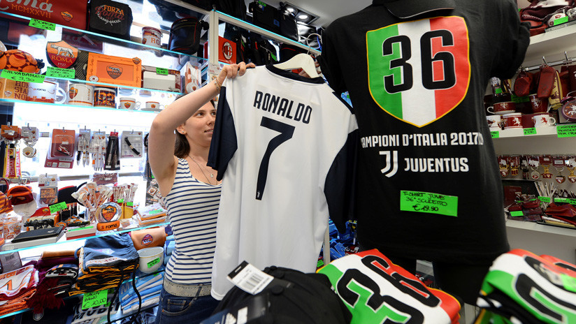 La Juve vende una camiseta de Cristiano cada minuto