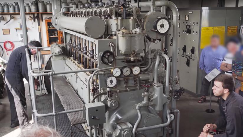 VIDEO: Así 'resucitan' el motor de un submarino nazi de la Segunda Guerra Mundial