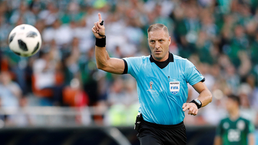 Un argentino será el árbitro en la final del Mundial de Rusia: ¿Quién es?