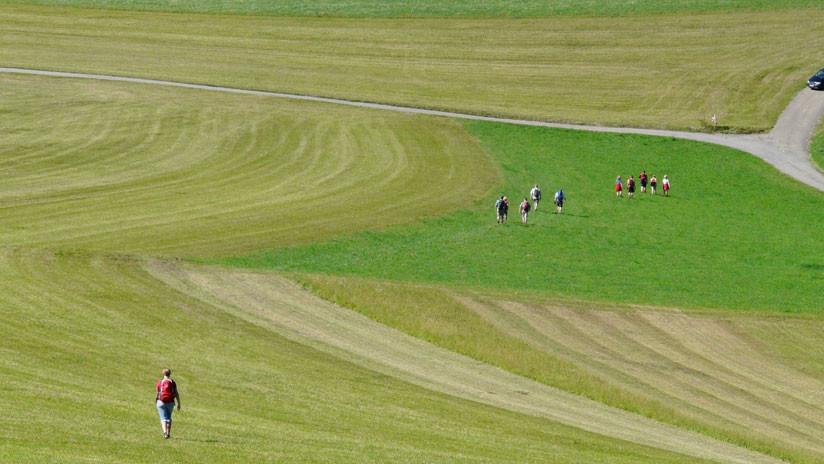 Reino Unido: El calor extremo saca a la luz extraños círculos de una civilización antigua (FOTO)