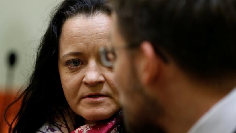 Neonazi alemana culpable de matar a 10 personas fue sentenciada a cadena perpetua