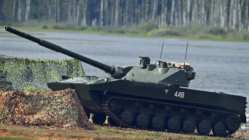 Tropas aerotransportadas: Pruebas del cañón ruso cazador de tanques entran en su recta final