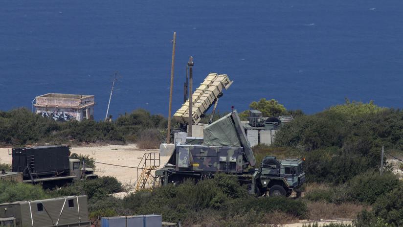 Israel lanza un misil contra un dron que se acerca desde Siria