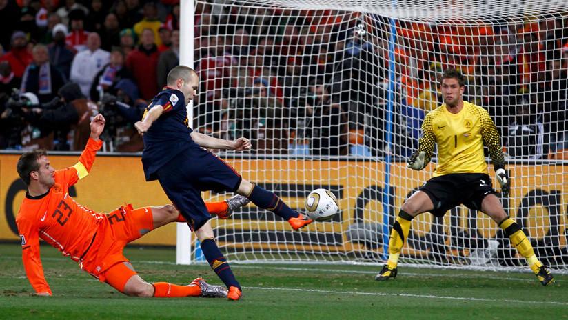 Así recuerdan los españoles el histórico gol de Iniesta en la final de Sudáfrica 2010