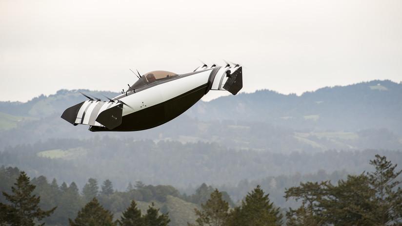 """VIDEOS: Una empresa de EE.UU. presenta un nuevo vehículo volador """"seguro y asequible"""""""