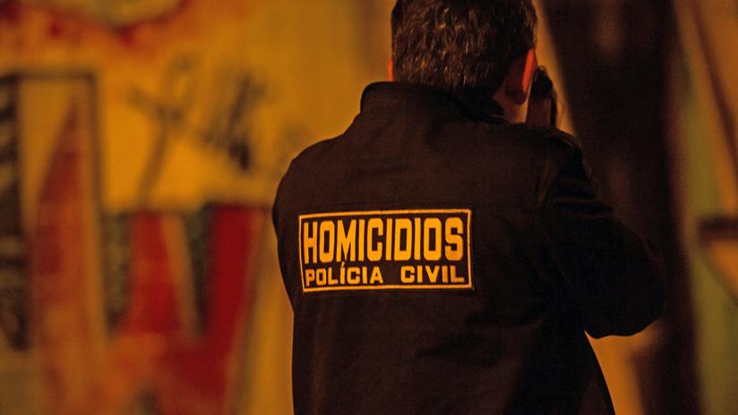 FUERTES IMÁGENES: Momento en que asesinan a un abogado brasileño delante de su hija de un año