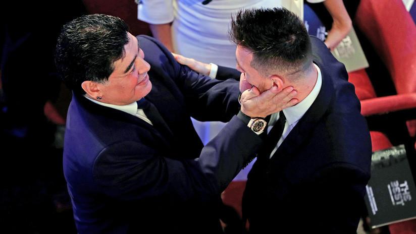 """""""Le devolvían una carretilla de adoquines"""": Maradona defiende a Messi, pero critica a la selección"""