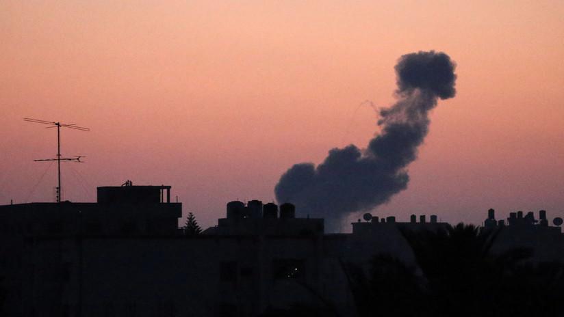 Israel ataca objetivos de Hamás en Gaza tras recibir ataques con 35 proyectiles