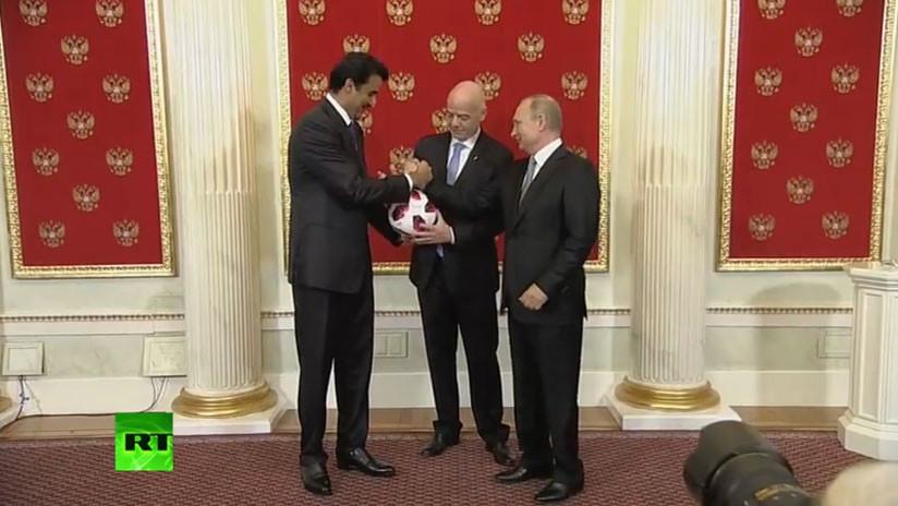 Rusia cede el testigo a Catar para que organice el Mundial de 2022
