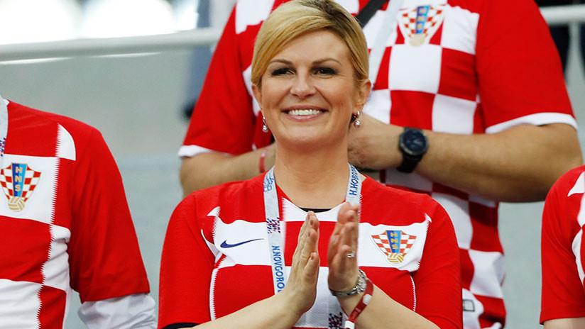 """""""¡Apoyen a Croacia hoy!"""": La presidenta croata dirige un emotivo mensaje a los rusos (VIDEO)"""