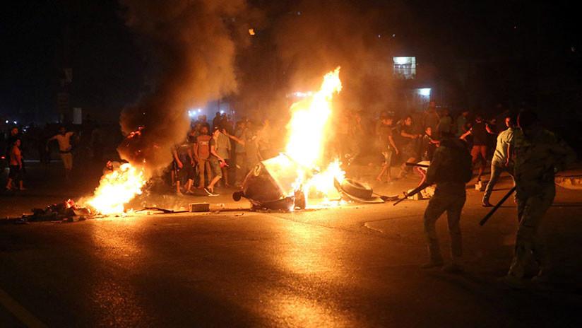Vuelos suspendidos y Facebook bloqueado: Irak se aisla por las protestas antigubernamentales