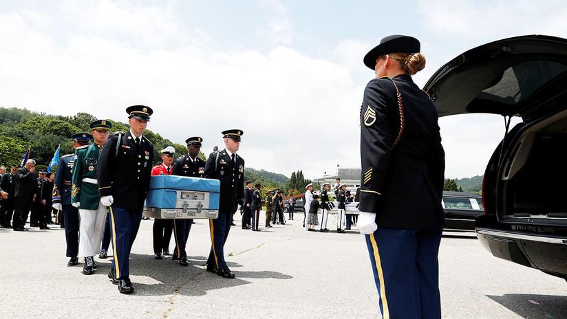 Pionyang permitirá la repatriación de restos de soldados de EE.UU. caídos en la Guerra de Corea