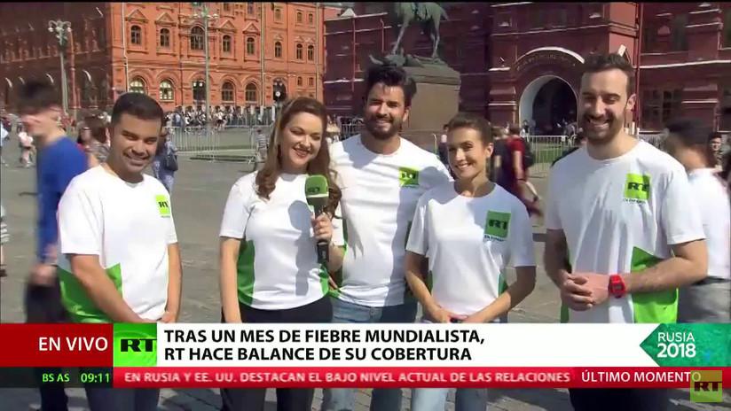 Un mes de fiebre futbolera: El equipo de RT hace su propio balance de la Copa del Mundo