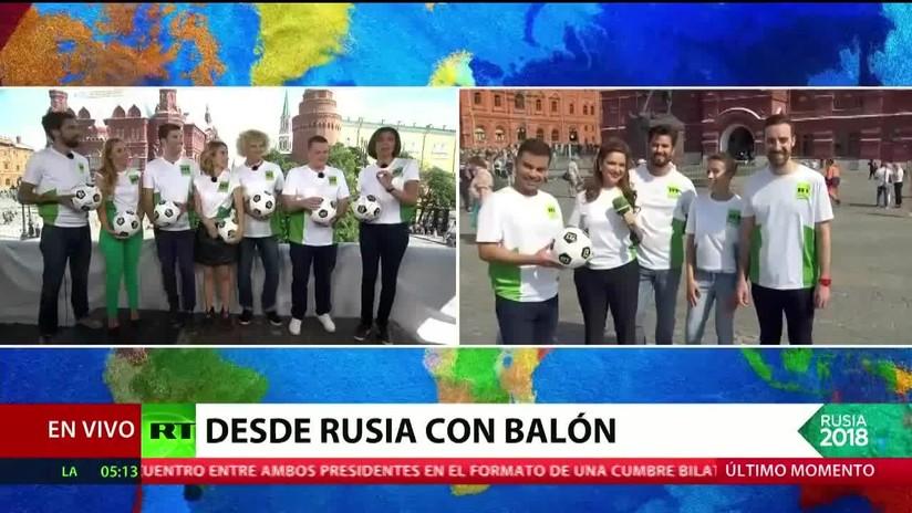 El equipo de RT se despide del Mundial Rusia 2018