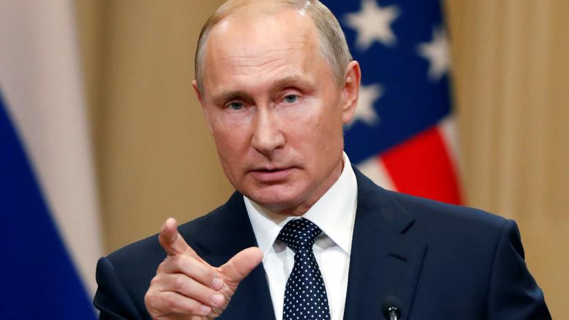 """Putin: """"Yo quería que Trump ganara las presidenciales porque él quería mejorar relaciones con Rusia"""""""