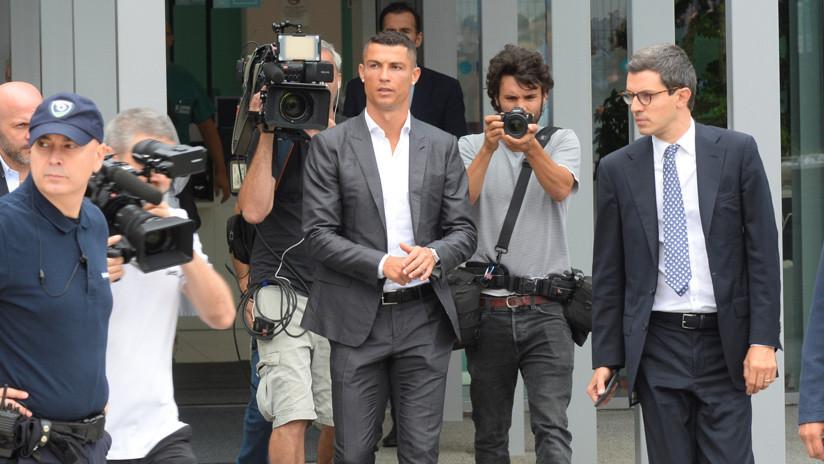 La Juventus de Turín presenta a Cristiano Ronaldo como su nuevo jugador (VIDEO)