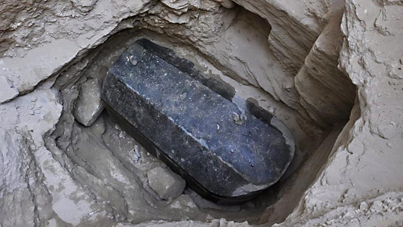 El sarcófago de granito más grande jamás hallado en Alejandría podría pertenecer a Alejandro Magno