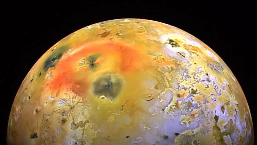 FOTO: La NASA encuentra evidencias de un nuevo volcán activo en la luna Ío de Júpiter