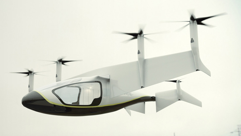 Rolls-Royce anuncia operación del taxi aéreo para 2020