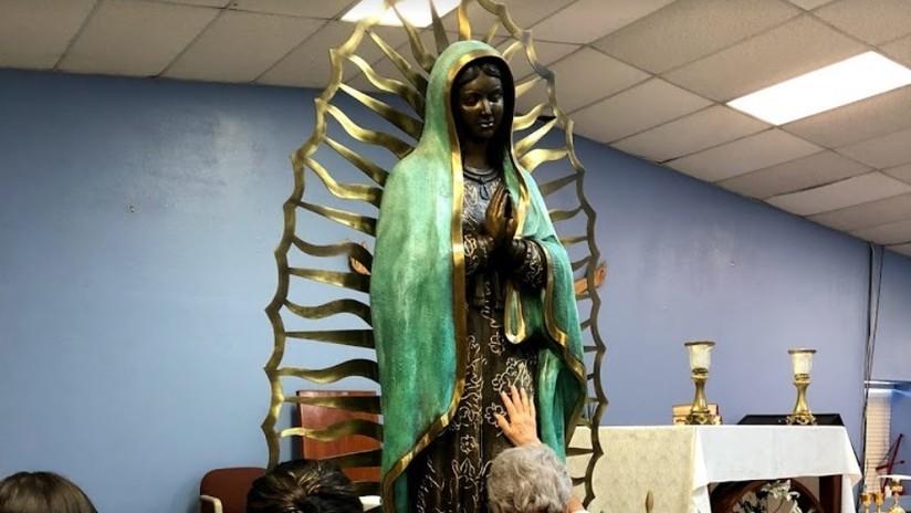 EE.UU.: Revelan de qué están hechas las 'lágrimas' que 'llora' la Virgen María en una iglesia