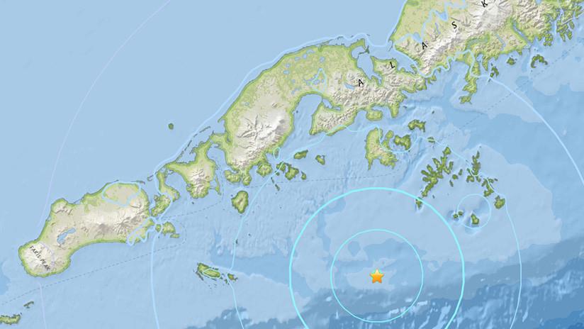 Un sismo de magnitud 5,7 sacude costas al suroeste de Alaska