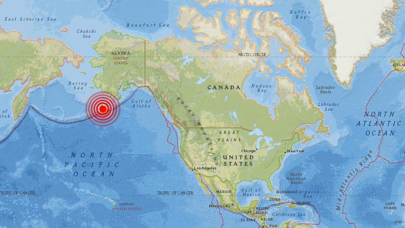 Un sismo de magnitud 6,0 sacude las costas de Alaska