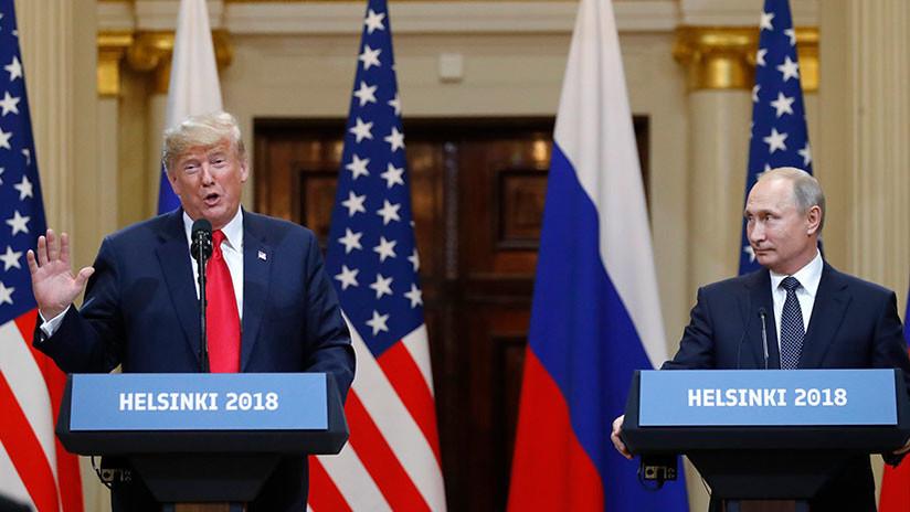 """Casa Blanca: """"Trump discrepa de la propuesta de Putin de interrogar a los exfuncionarios de EE.UU."""""""