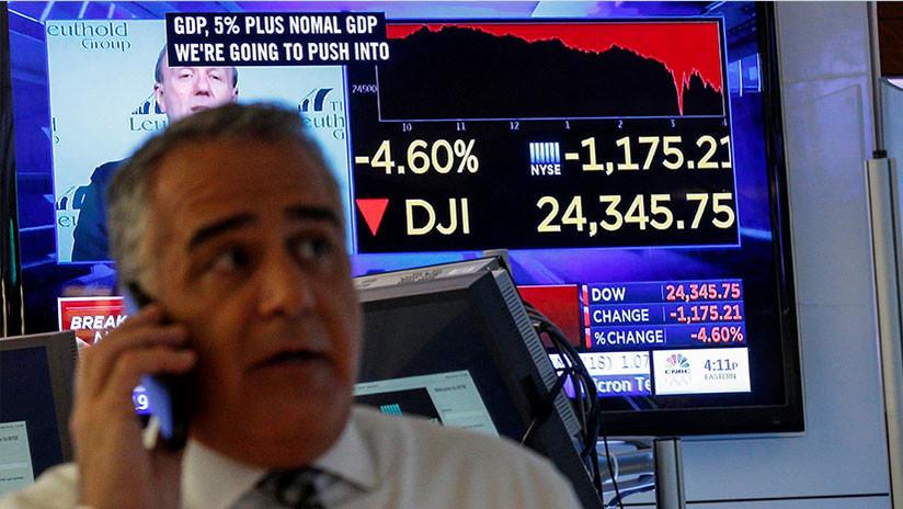 Los índices de la Bolsa de EE.UU. caen tras anuncio de Trump de nuevos aranceles contra China