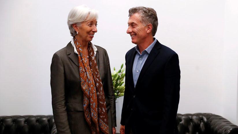 Lagarde llega a Argentina en medio de fuertes críticas por el acuerdo de 50.000 millones de dólares