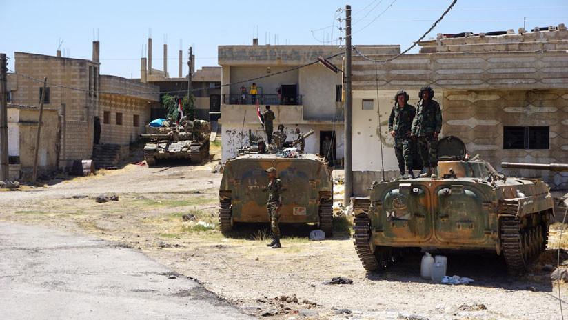 Los militares sirios llegan a la zona desmilitarizada de los Altos del Golán