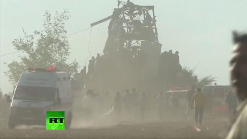 VIDEO: Al menos tres palestinos muertos en los enfrentamientos en la frontera de Gaza con Israel