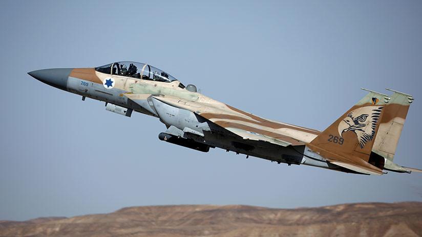 """Israel lanza un ataque aéreo masivo contra """"los puestos de Hamás"""" en Gaza"""