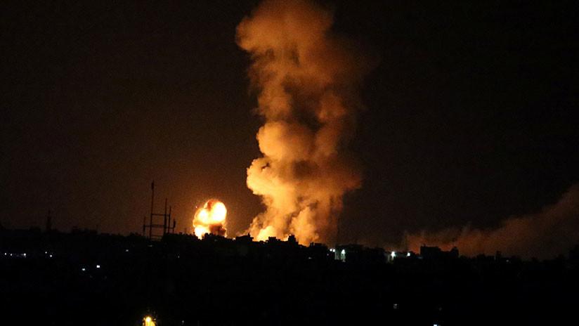 Israel ataca 60 objetivos de Hamás tras el asesinato de un soldado en la frontera con Gaza