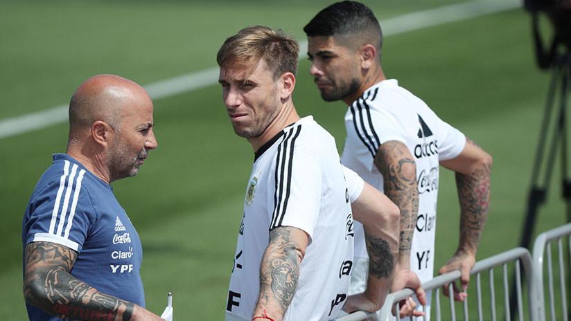 """Revelan fuertes palabras de los jugadores argentinos a Sampaoli en Rusia: """"Ya no confiamos en vos"""""""