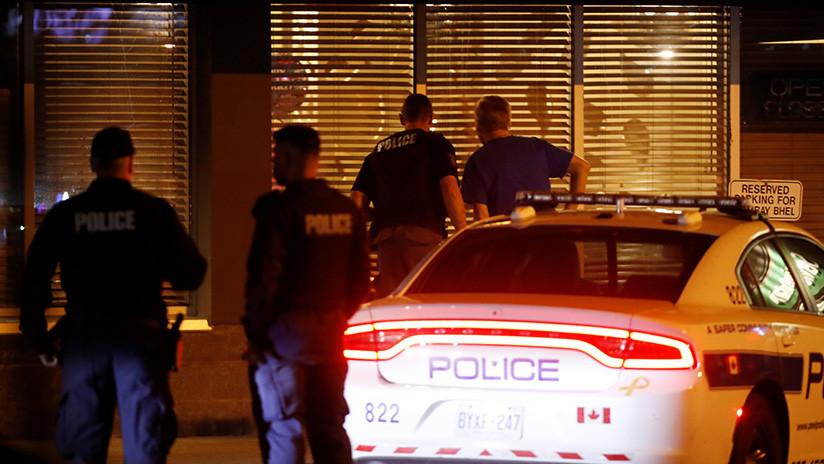 Tiroteo en Toronto, Canadá, al menos diez heridos, el atacante muerto