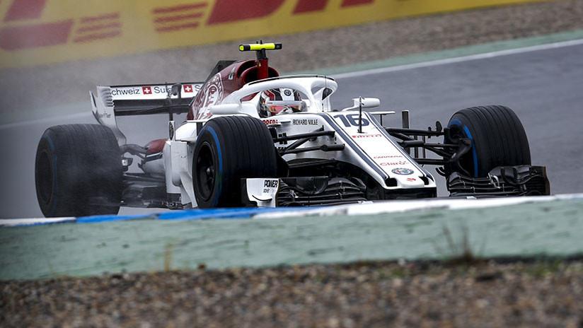 VIDEO: Piloto de Fórmula 1 da un giro de 360 grados y continúa la carrera como si nada