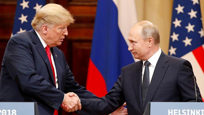 """Trump sobre la reunión con Putin: """"No renuncié a nada, hablamos de los beneficios para ambos países"""""""