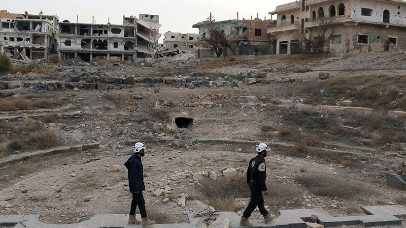 """Rusia: """"La huida de los Cascos Blancos de Siria con apoyo extranjero mostró para quién trabajaban"""""""