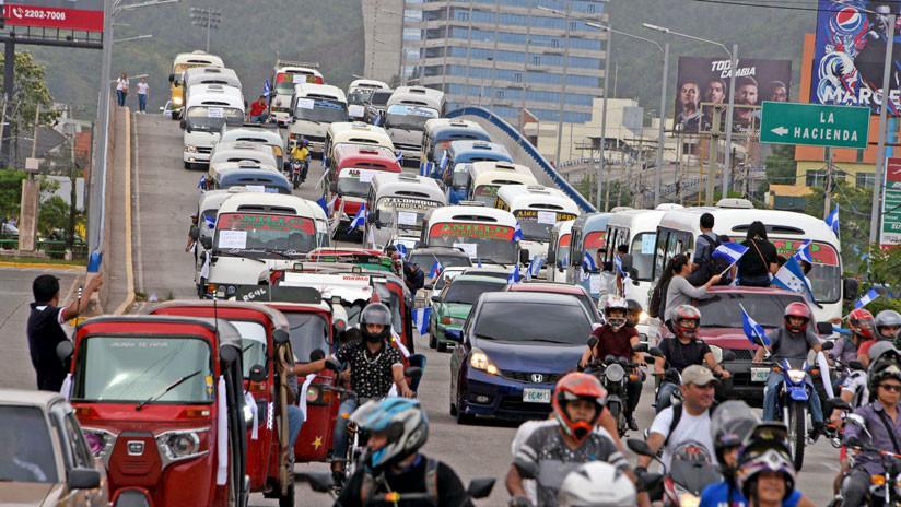 Huelga de transportistas paraliza Honduras y el Gobierno decreta el asueto laboral