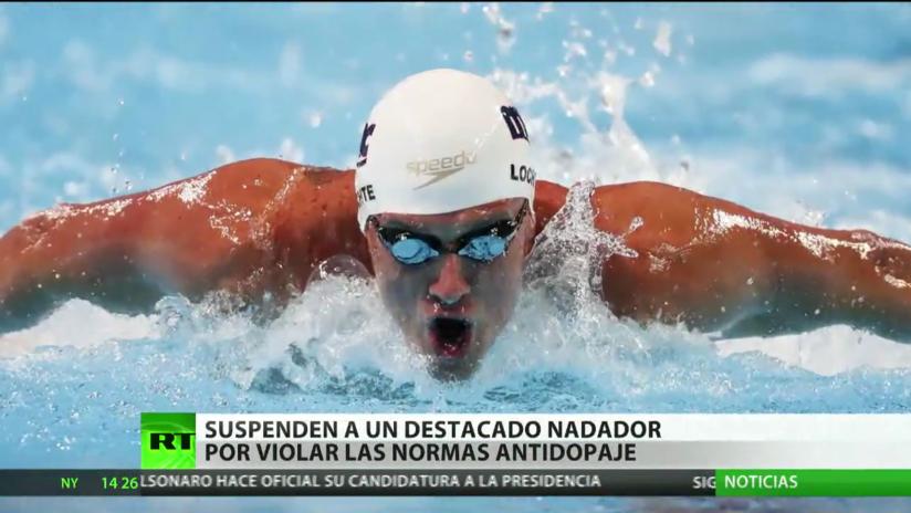 Suspenden a un destacado nadador estadounidense por violar las normas antidopaje