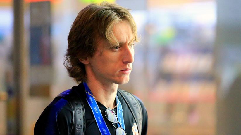FOTO: Luka Modric responde a la carta de una aficionada de 5 años enferma de cáncer