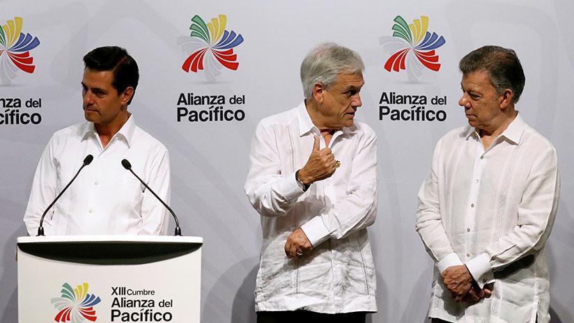 Presidentes acuerdan mejorar la cooperación económica entre la Alianza del Pacífico y el Mercosur